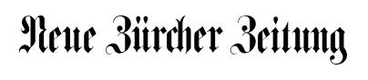 NZZ Online Archiv